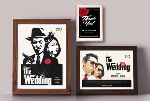 結婚式用ウェルカムボード (ポスター・カード)